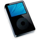 Ipod black player mp3
