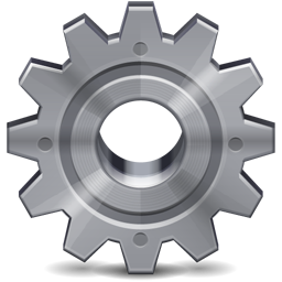 Preferences Cog Gear Stainless 256px Icon Gallery