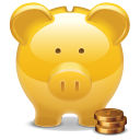 Bank piggy savings
