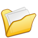Folder mydocuments yellow