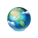 World earth globe browser