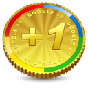 Google plus +1 one coin