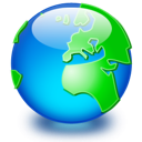 Earth world network global internet