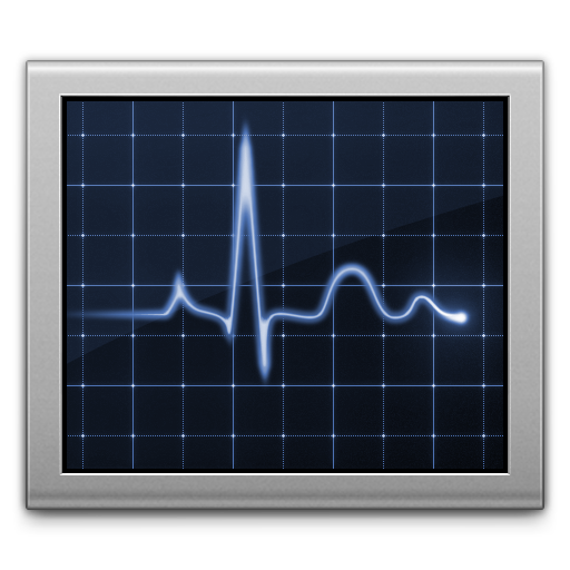 Diagnostics screen activity monitor