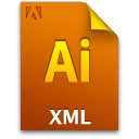Xmlfile icon file ai document