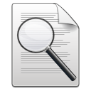 Actions document file doc magnifying search zoom magnify loupe magnifier find paper look