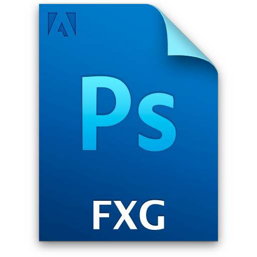 Document secondary fxg file icon