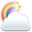 Cloud rainbow weather bear