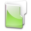 Filesystem folder green