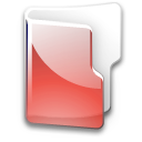 Filesystem folder red