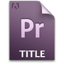 Pr title document file