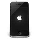 Iphone black apple