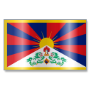 Tibetan people flag