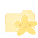 Happy starry vanilla folder