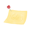 Note pin