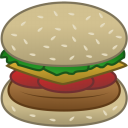 Hamburger food