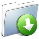 Folder smooth dropbox graphite