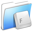 Fonts folder aqua smooth