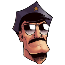 Axe cop head axecop