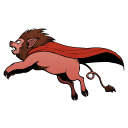 Pig Axecop Lion Super Axe Cop 128px Icon Gallery