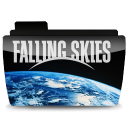Folder falling tv skies