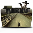 Folder walking tv dead