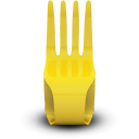 Fork seat chair