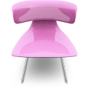 Pink seat chair