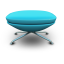 Skyblue seat chair