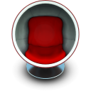 Sphere seat chair