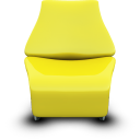 Seat chair yellow