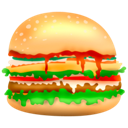 Burger food hamburger fast food junk food