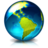 World internet browser earth