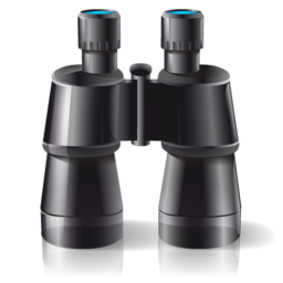 Zoom binoculars find search