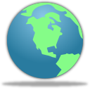 Earth world globe browser