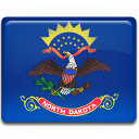 Flag dakota north