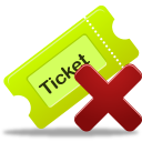 Remove ticket