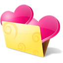 Favourite bookmarks love favorite icon folder
