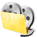 Video folder icon movies