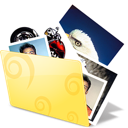 Folder photos icon pictures
