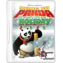 Holiday panda kungfu