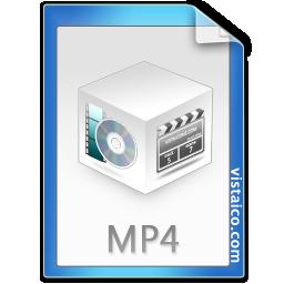 Mp4 Vistaico File Icons 128px Icon Gallery