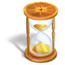 Time hourglass wait