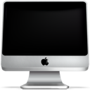 Monitor screen computer off imac