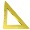 Ruler measure triangle