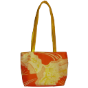 Bag orangeyellow vintage