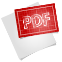 Adobe blueprint pdf excel icon