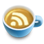 Rss 64 latte icon social