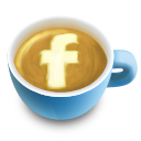 Coffee cup facebook latte