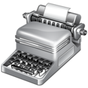 http://icongal.com/gallery/image/4108/publish_typewriter.png